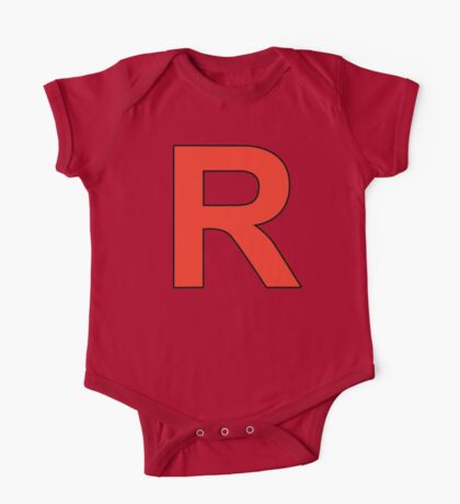 Team Rocket Logo One Piece - Short Sleeve