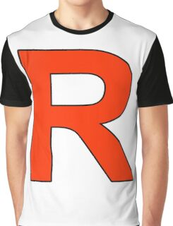 Team Rocket Logo Graphic T-Shirt