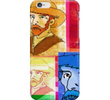 VINCENT VAN GOGH COLLAGE, DUTCH POST-IMPRESSIONIST ARTIST iPhone Case/Skin