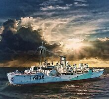 HMCS Shawinigan by Shawna Mac