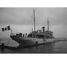 CSS Acadia in Halifax Harbour Nova Scotia Photographic Print