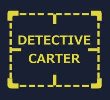 Detective Carter Knows by REDROCKETDINER