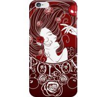 Poison - Blood Rose Full Illustration iPhone Case/Skin