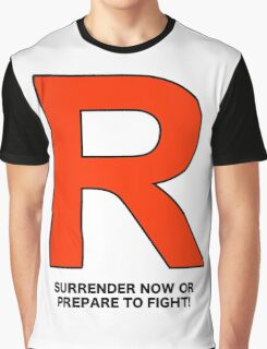 Team Rocket (Surrender Now or Prepare to Fight!) Graphic T-Shirt