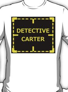 Detective Carter Knows sticker alternative T-Shirt