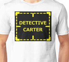 Detective Carter Knows sticker alternative Unisex T-Shirt