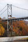 Kingston - Port Ewen Suspension Bridge (NY, USA) by John Schneider