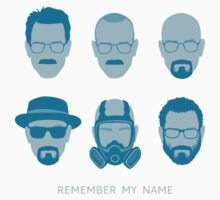 ALL HAIL HEISENBERG! - Blue version by oliviero