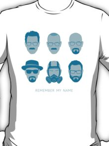 ALL HAIL HEISENBERG! - Blue version T-Shirt