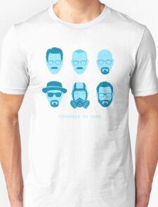ALL HAIL HEISENBERG! - Blue version Unisex T-Shirt