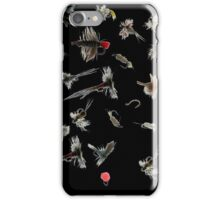 Fly fishing flies iPhone Case/Skin