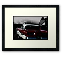 Postcard from the Fifties  Framed Print