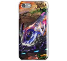 Race the Galaxy iPhone Case/Skin