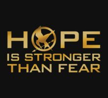 Hope is Stronger Than Fear by glucern