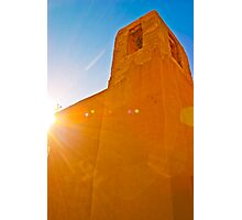Del Rey Mission Bell Tower Photographic Print