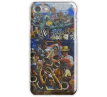 dalston peace mural iPhone Case/Skin