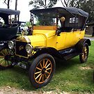 Veteran Model T Ford - Drouin, Gippsland  by Bev Pascoe