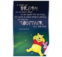 Winnie the Pooh - Dreams Poster