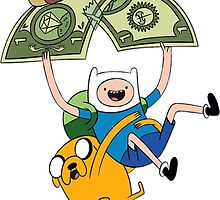 Adventure Time - Finn and Jake by benzworld