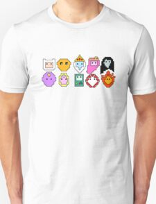 10 Adventure time characters T-Shirt