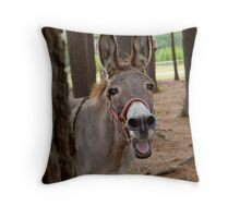 Donkey Throw Pillow