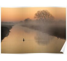 Dawn on the South Drain Poster