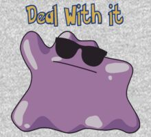 Ditto says deal with it One Piece - Long Sleeve