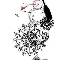Snowman by navratil