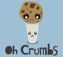 """""""Oh Crumbs"""" - Kawaii Cookie & Milk by AlexNoir"""