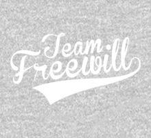 Team Freewill (WHITE - NO NAMES) Kids Tee