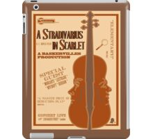 A Stradivarius in Scarlet iPad Case/Skin