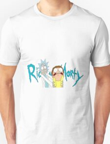 Rick and Morty with logo T-Shirt