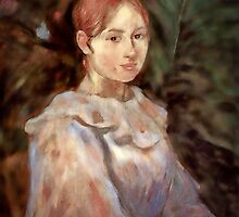 Young Woman after Morisot by Wib Dawson