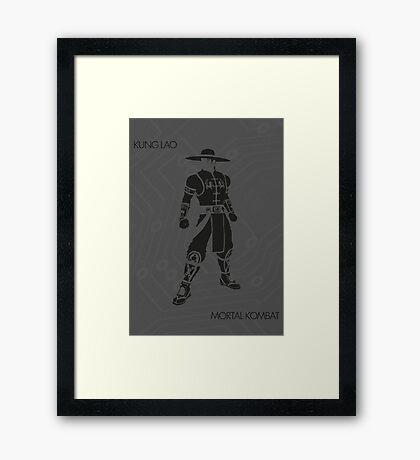 Lao Framed Print