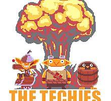 Techies Pixelated by jarpgam15