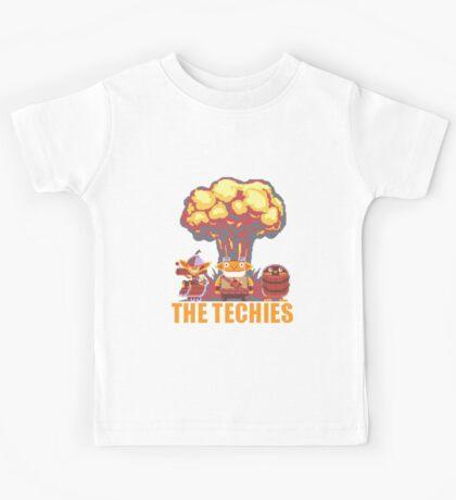 Dota 2 - Techies Pixelated Kids Tee
