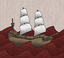 Galleon by Matthew Davidson