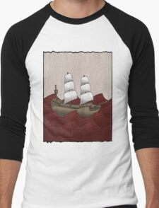 Galleon Men's Baseball ¾ T-Shirt