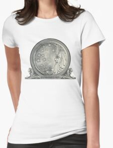 Proctor and Gamble Moon Logo Womens Fitted T-Shirt