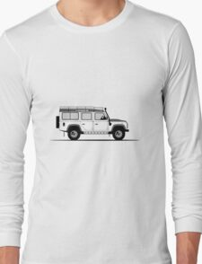 Land Rover Defender 110 Station Wagon Adventure Edition Long Sleeve T-Shirt