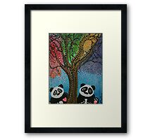 The Panda Tree Framed Print