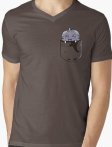 Pocket Espurr Mens V-Neck T-Shirt