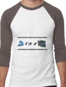 Shutter Bug Men's Baseball ¾ T-Shirt