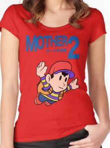 Mother 2 (SMB 3 Look-alike) Women's Fitted Scoop T-Shirt