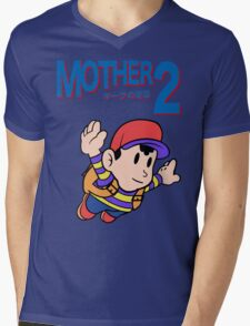 Mother 2 (SMB 3 Look-alike) Mens V-Neck T-Shirt
