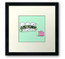 Family Reunion Framed Print