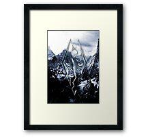 Skyrim Winter Poster Framed Print