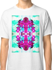 Ink Blot Purple Classic T-Shirt