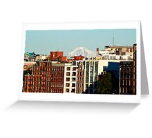 Old Town Vancouver Greeting Card