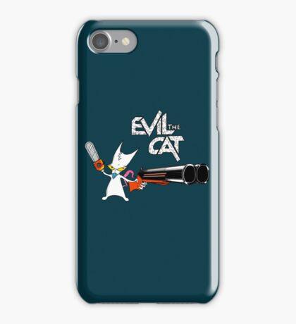 EVIL CAT iPhone Case/Skin